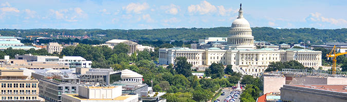 United States Capitol view