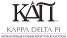 Kappa Delta Pi, International Honor Society in Education logo